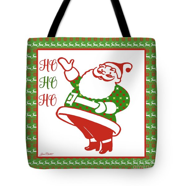 Ugly Christmas Sweater Santa-a Tote Bag