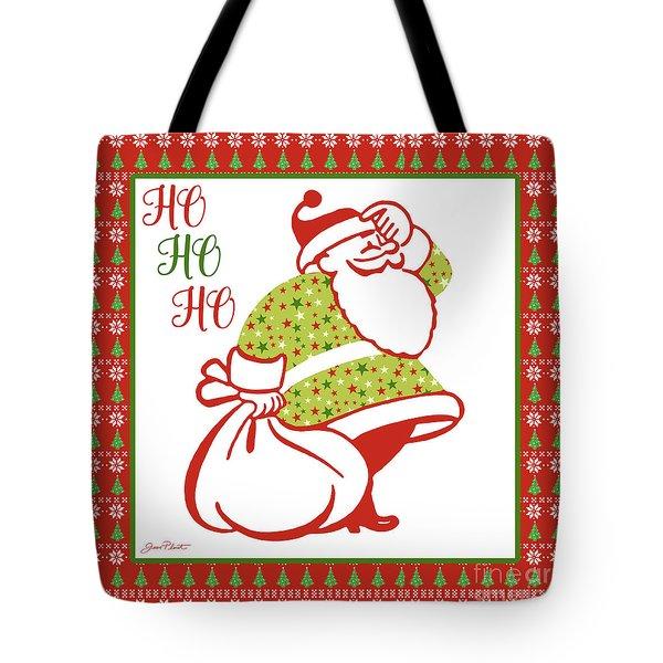 Ugly Christmas Sweater Santa-c Tote Bag