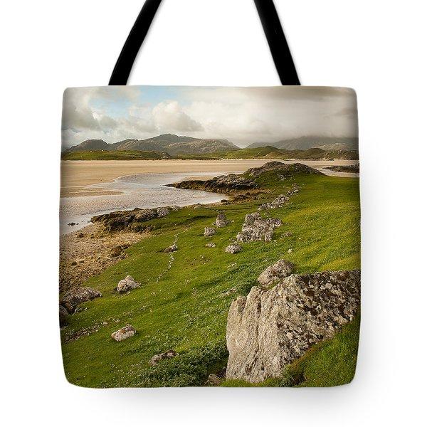 Uig Sands - Isle Of Lewis Tote Bag