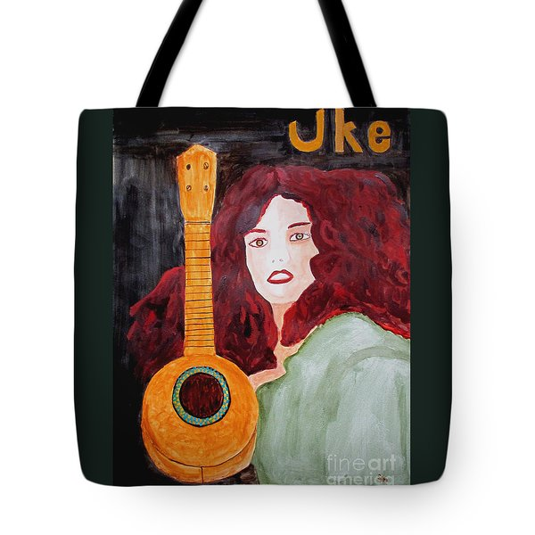 Uke Tote Bag by Sandy McIntire