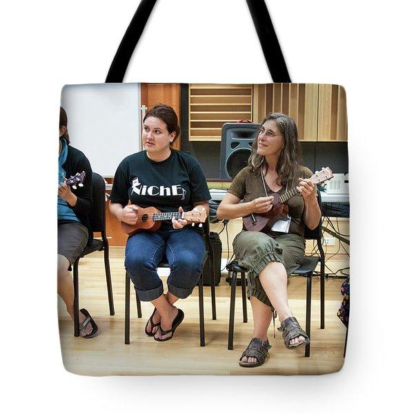 Ukelele Ensemble Tote Bag