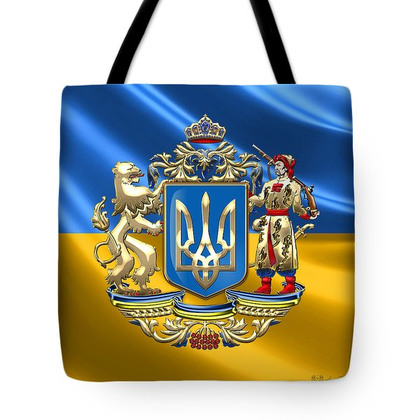 Ukraine - Greater Coat Of Arms  Tote Bag