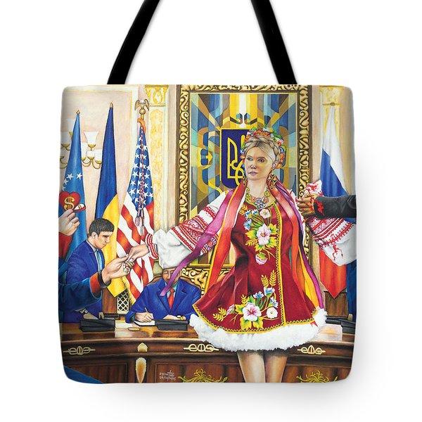 Ukraine The Unfortunate Bride Tote Bag