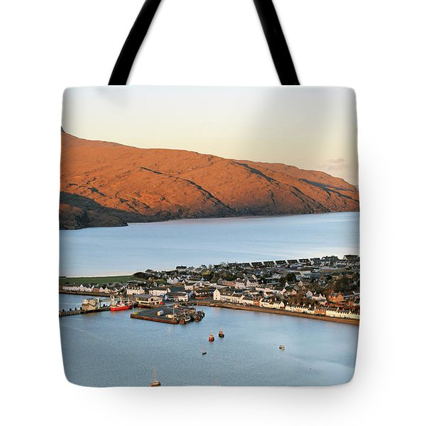 Ullapool Morning Light Tote Bag by Grant Glendinning
