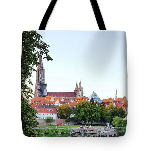 Ulm Minster Tote Bag