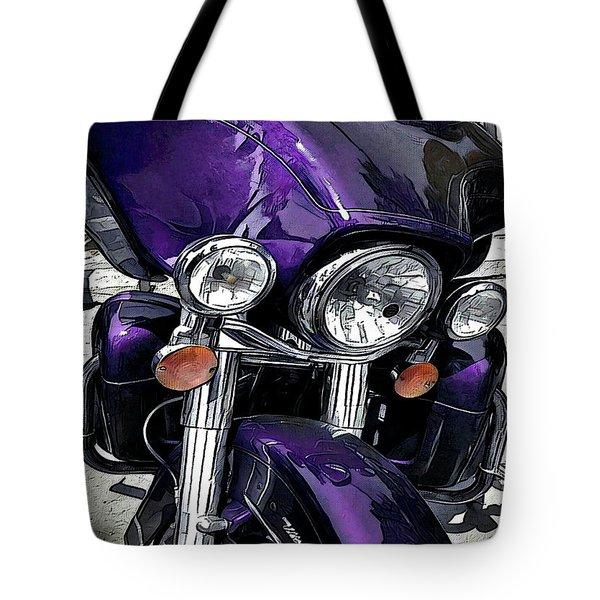 Ultra Purple Tote Bag