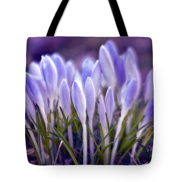 Tote Bag featuring the photograph Ultra Violet Sound by Silva Wischeropp