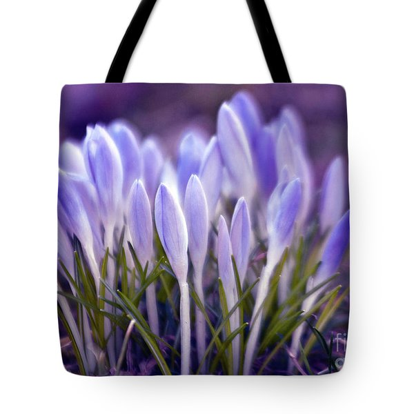 Ultra Violet Sound Tote Bag