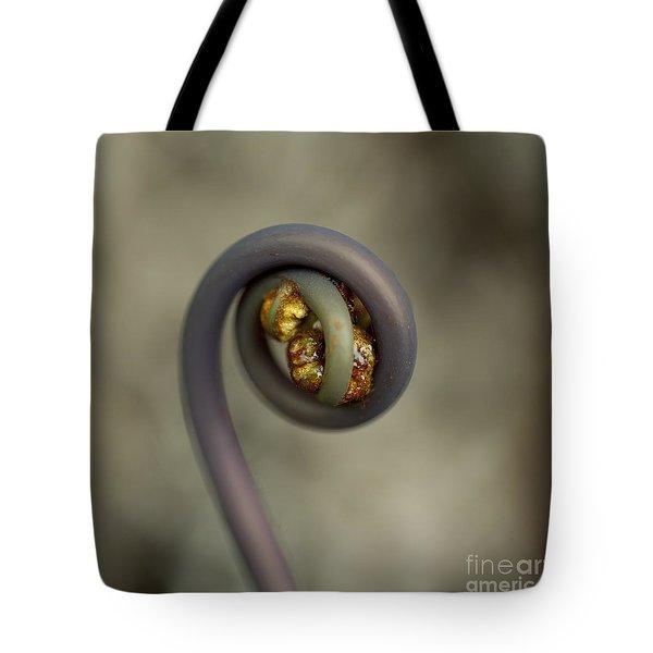 Uluhe Fiddlehead Tote Bag