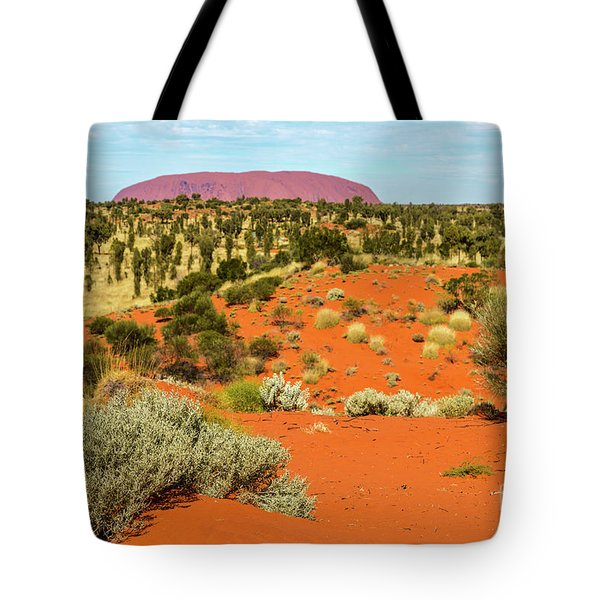 Tote Bag featuring the photograph Uluru 01 by Werner Padarin