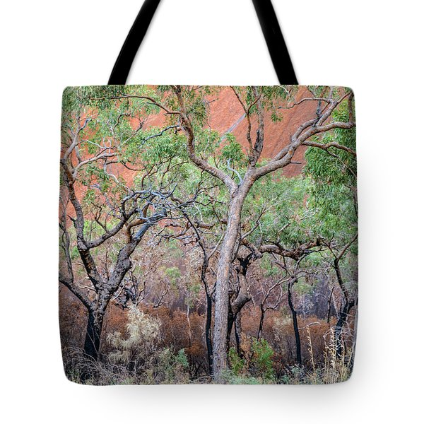 Tote Bag featuring the photograph Uluru 05 by Werner Padarin