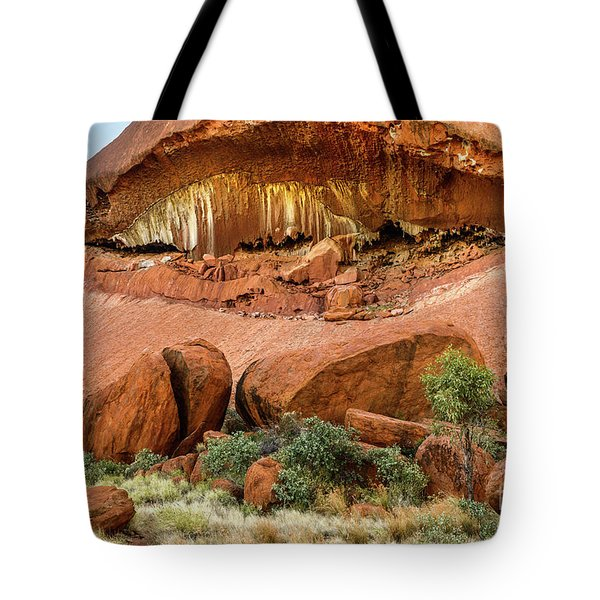 Tote Bag featuring the photograph Uluru 06 by Werner Padarin