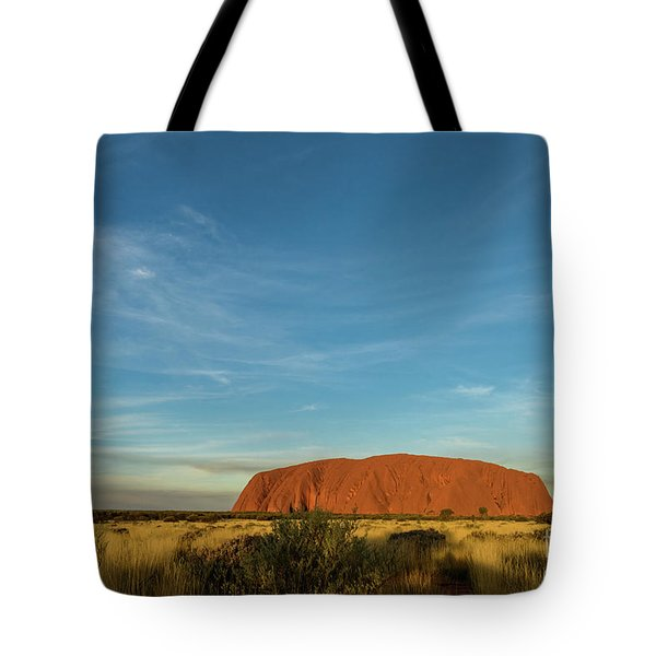 Tote Bag featuring the photograph Uluru Sunset 01 by Werner Padarin