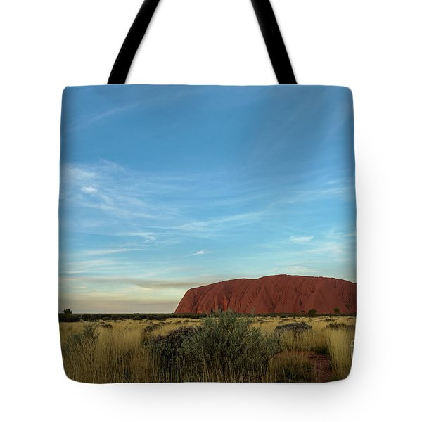Tote Bag featuring the photograph Uluru Sunset 02 by Werner Padarin