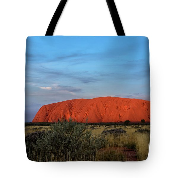 Uluru Sunset 03 Tote Bag