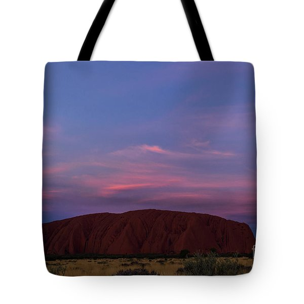 Tote Bag featuring the photograph Uluru Sunset 04 by Werner Padarin