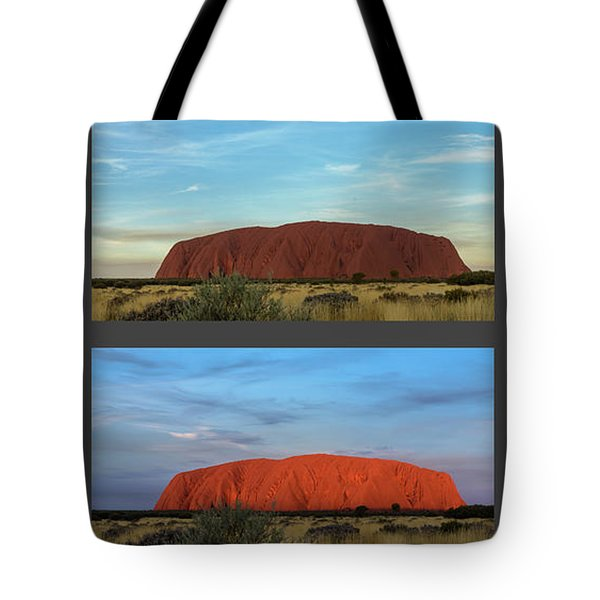 Uluru Sunset Tote Bag