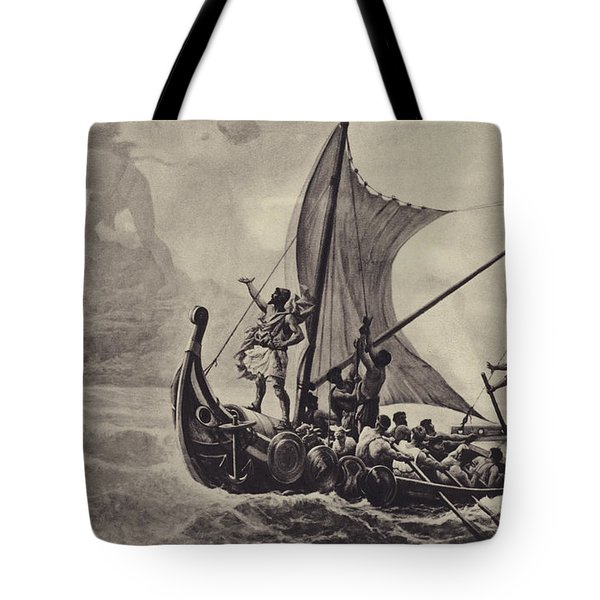Ulysses Deriding The Cyclops Tote Bag
