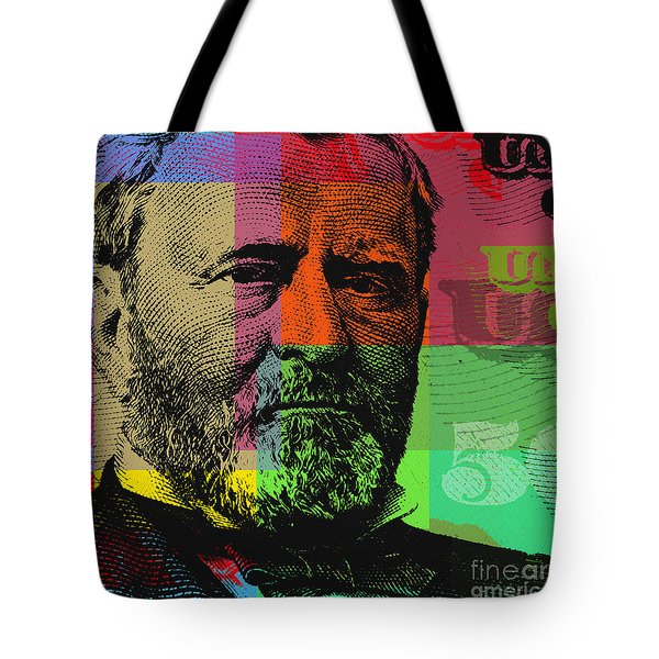 Ulysses S. Grant - $50 Bill Tote Bag