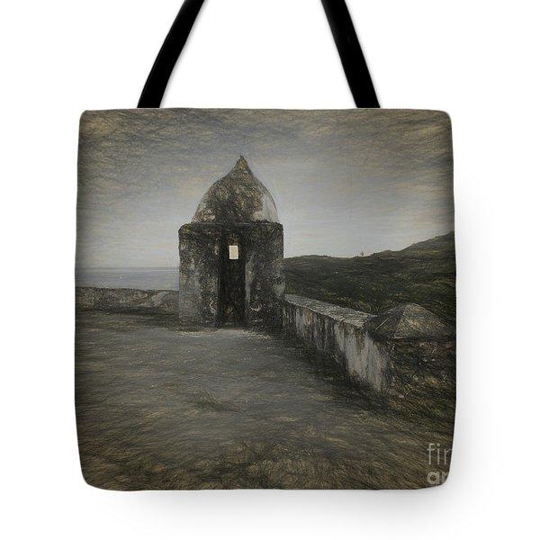 Umatac Guam- Spanish Lookout Tote Bag