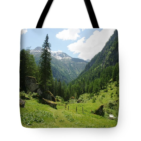Tote Bag featuring the photograph Umbaltal by Christian Zesewitz