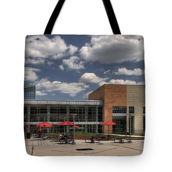 Umbc Studen Union Tote Bag by Lois Bryan