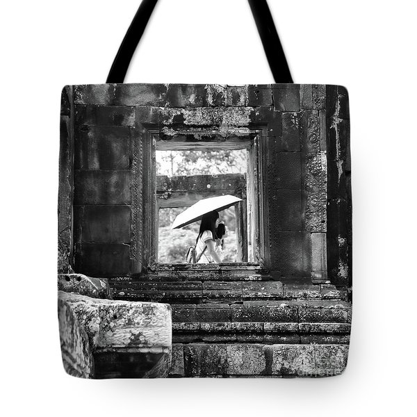 Umbrella Angkor Wat  Tote Bag