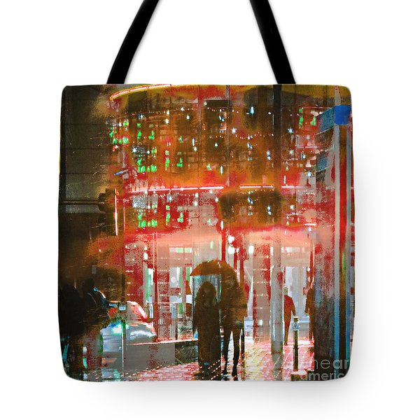Umbrellas Are For Sharing Tote Bag