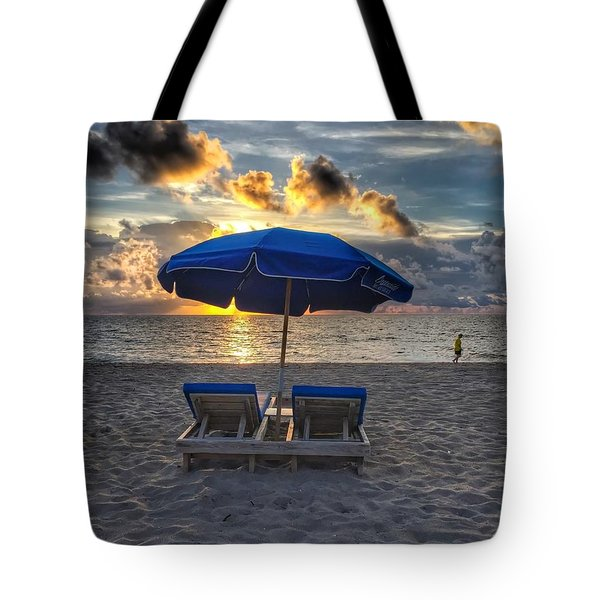 Umbrella For Two Tote Bag