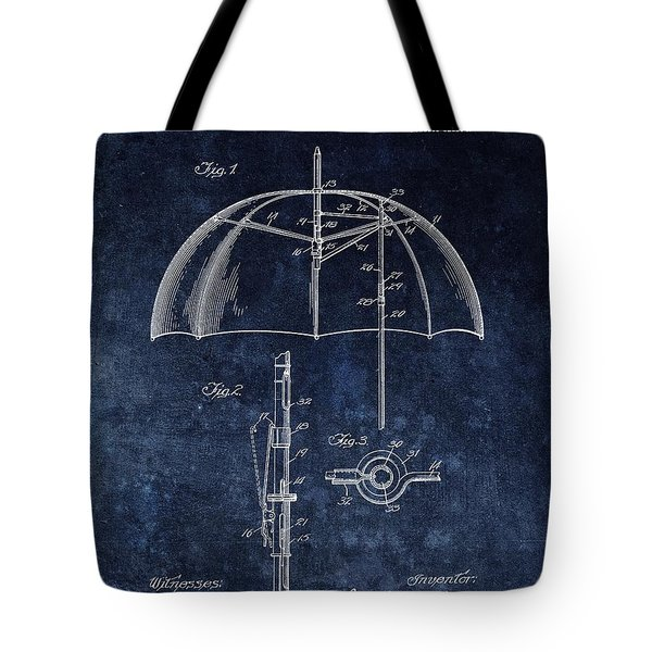Umbrella Patent Tote Bag
