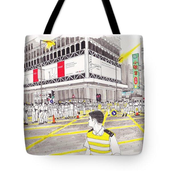 Umbrella Revolution 4 Hk 2014 Tote Bag