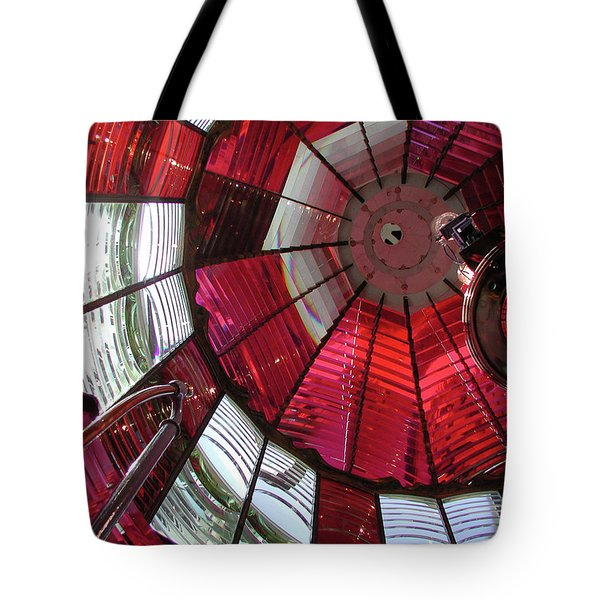 Umpqua River Red Tote Bag