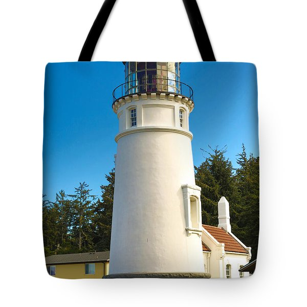 Umpqua River Lighthouse Tote Bag