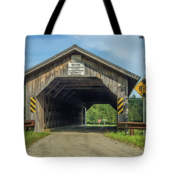 Un-named Bridge Tote Bag