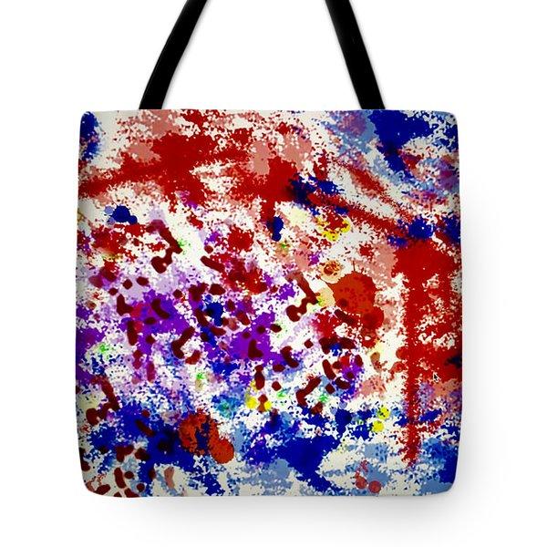 Uncertainty Tote Bag by Raul Diaz
