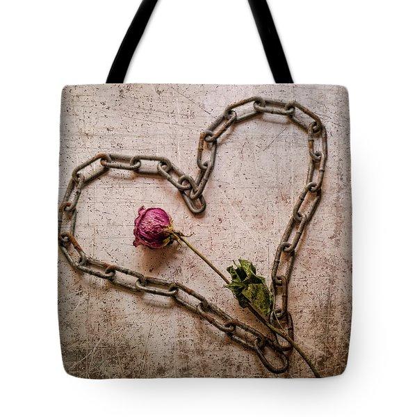 Unchain My Heart Tote Bag
