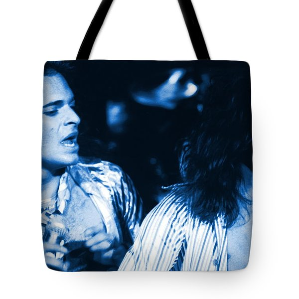 Unchained Blues Tote Bag by Ben Upham