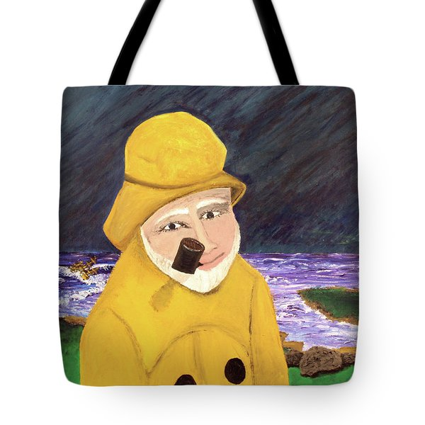 Tote Bag featuring the painting Uncle Bunk by Thomas Blood
