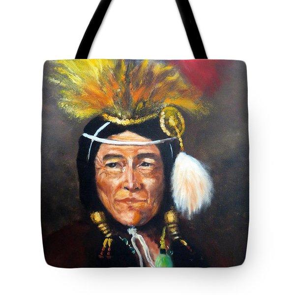 Uncle Joe Tote Bag by Lee Piper