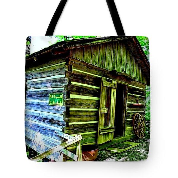 Uncle John's Cabin Tote Bag