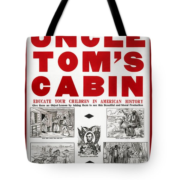 Uncle Tom's Cabin - Film Adaptation Promotion Poster Tote Bag