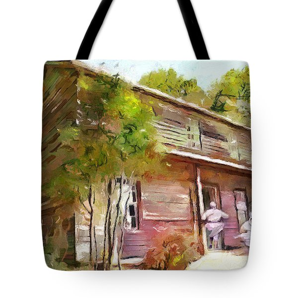 Uncle Tom's Cabin Tote Bag