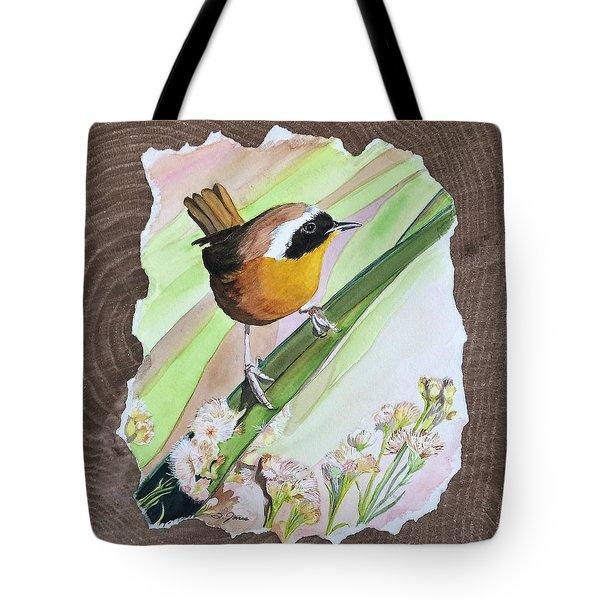 Uncommon Yellowthroat Tote Bag