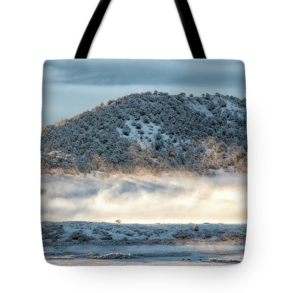 Uncompaghre Valley Fog Tote Bag