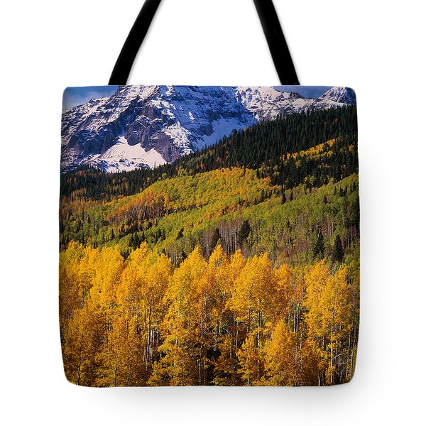 Uncompahgre National Forest Co Usa Tote Bag
