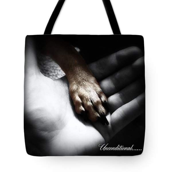 Unconditional Tote Bag by Shana Rowe Jackson