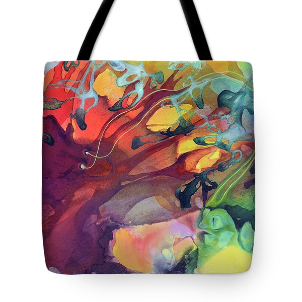 Uncontrolled Tote Bag