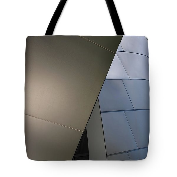 Unconventional Construction Tote Bag by Rona Black