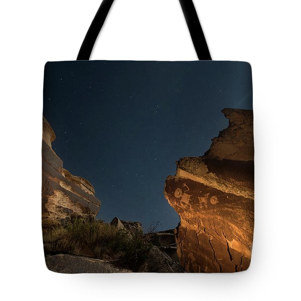 Uncounted Years Under The Moonlight Tote Bag