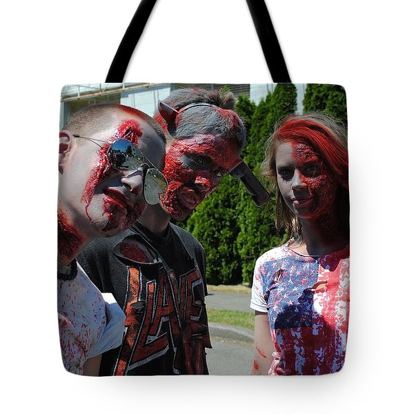 Undead Trio Tote Bag